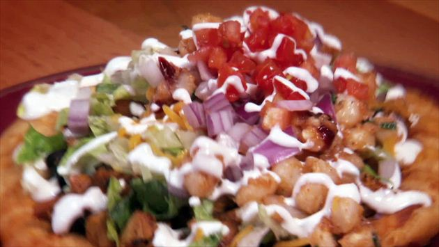Tocabe Chicken Indian Taco