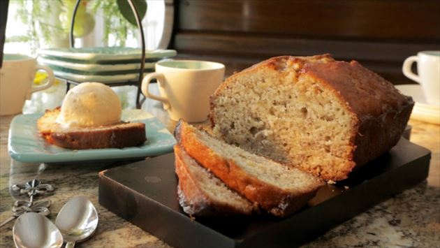 Bananas foster bread recipe damaris phillips food network forumfinder Image collections