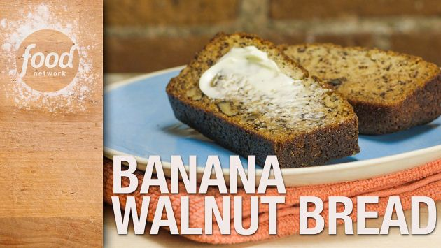 Banana walnut bread recipe food network kitchen food network forumfinder Image collections